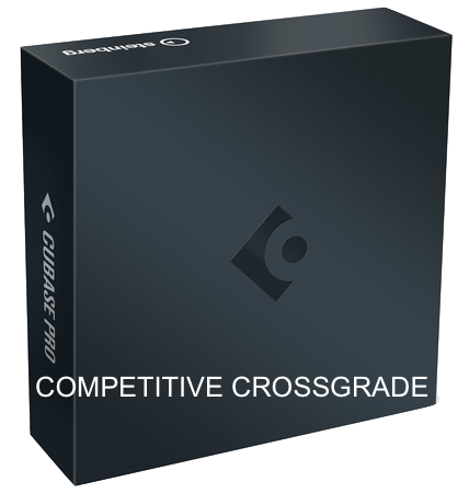STEINBERG CUBASE PRO 10 COMPETITIVE CROSSGRADE