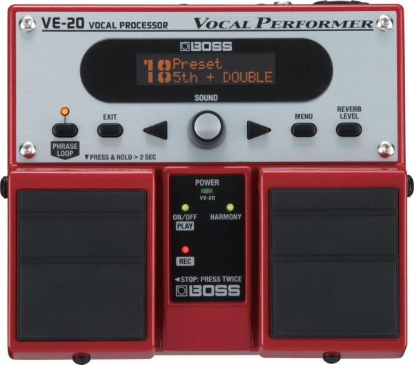 BOSS VE20 VOCAL PERFORMER