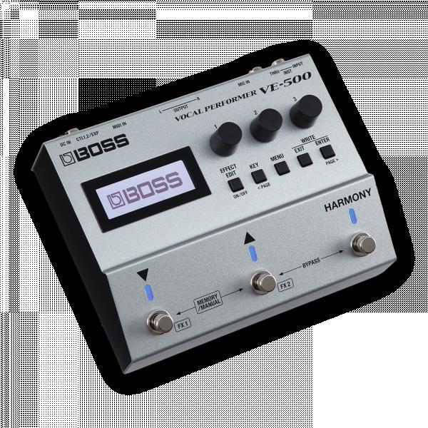 BOSS VE500 ADVANCED VOCAL PERFORMER